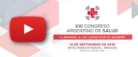Mirá EN VIVO  XXI Congreso Argentino de Salud | Mendoza