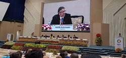 Rubinstein participó en India del Foro para la Salud de la Madre, el Recién Nacido y el Niño
