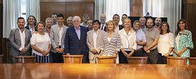 González García recibió integrantes del Foro Argentino de Facultades de Medicina Públicas