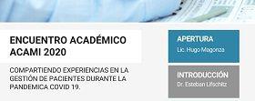 | ENCUENTRO ACADÉMICO ACAMI 2020