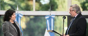 Carla Vizzotti asumió como Ministra de Salud de la Nación