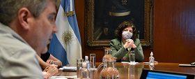 Vizzotti trabajó con ministros de todo el país criterios de distribución de vacunas y prevención ante segunda ola